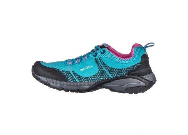 Modré dámské trekové boty - obuv EFFE TRE