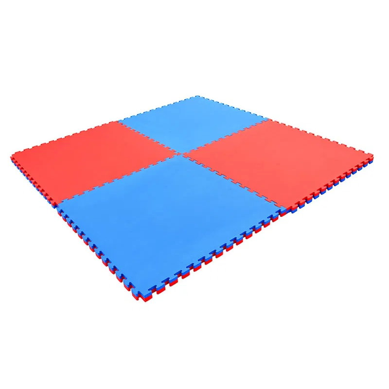 Červeno-modrá zátěžová podložka Spartan - tloušťka 20 mm
