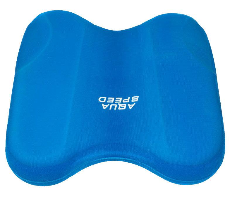 Modrá plavecká deska Pullkick, Aqua-Speed - délka 29 cm a šířka 31 cm