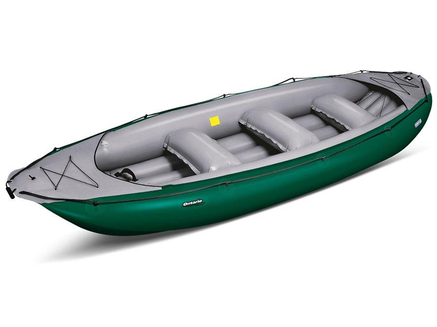 Zelený člun pro 6 osob Gumotex
