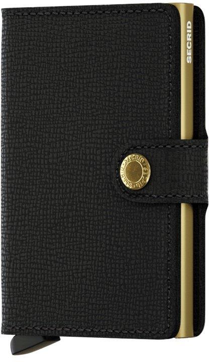 Peněženka - Secrid Miniwallet Crisple Black-Gold