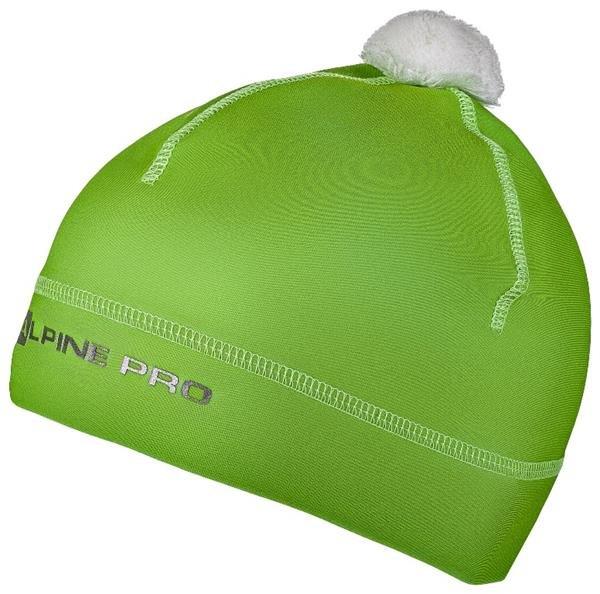 Zelená dětská zimní čepice Alpine Pro