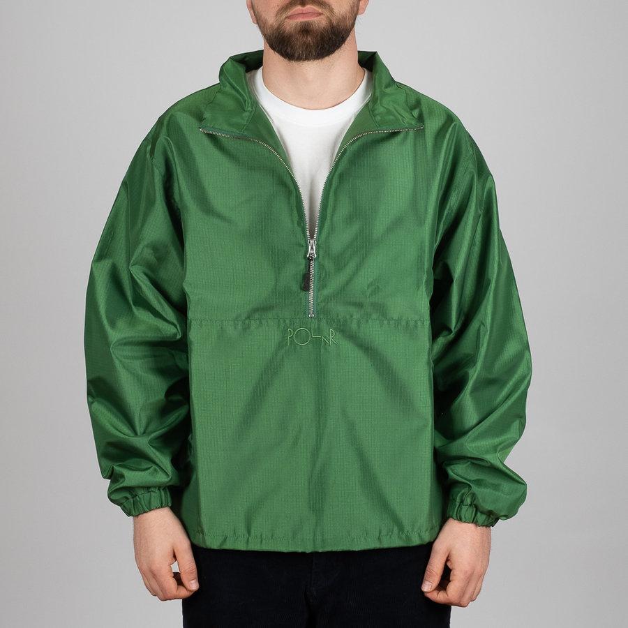 Zelená pánská bunda s kapucí Ripstop Anorak, Polar Skate Co.