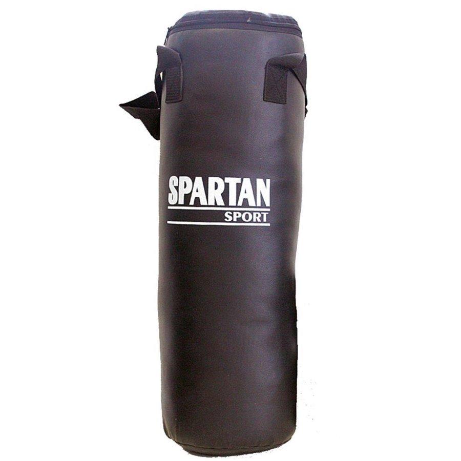 Černý boxovací pytel Spartan - 15 kg