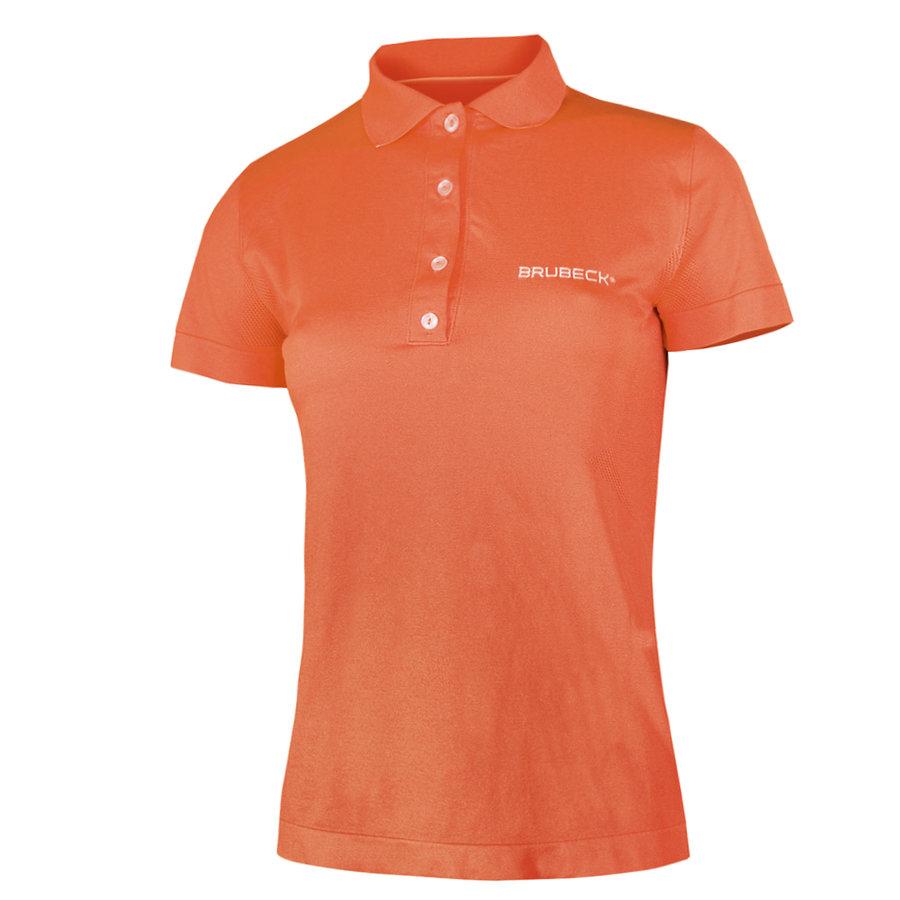 Oranžová dámská polokošile s krátkým rukávem Brubeck