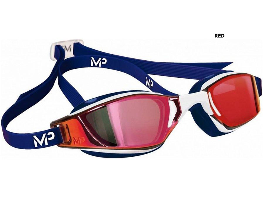 Červeno-modré plavecké brýle Michael Phelps Xceed, Aqua Sphere