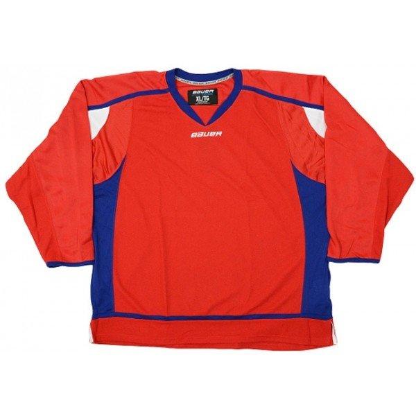 Červený pánský hokejový dres Bauer