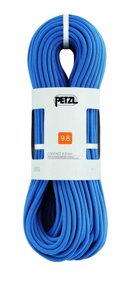Modré lano Contact, Petzl - průměr 9,8 mm a délka 60 m