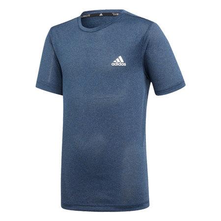 Modré chlapecké tričko s krátkým rukávem Adidas