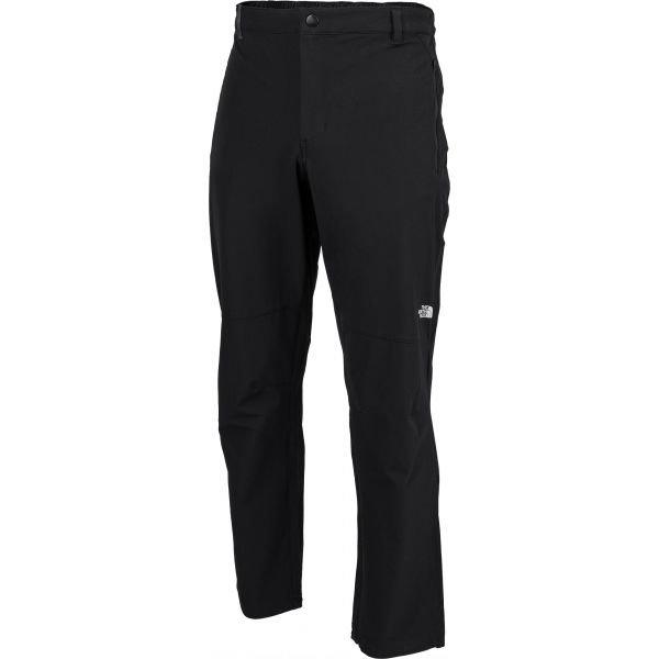 Černé softshellové pánské kalhoty The North Face
