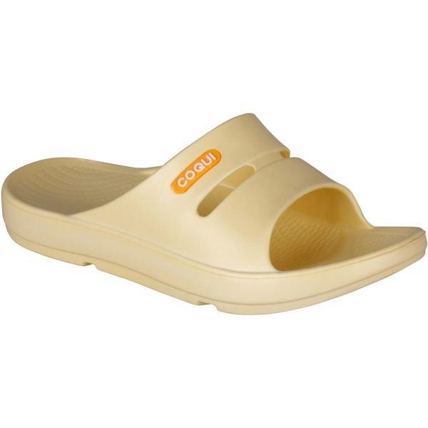 Žluté dámské pantofle Coqui
