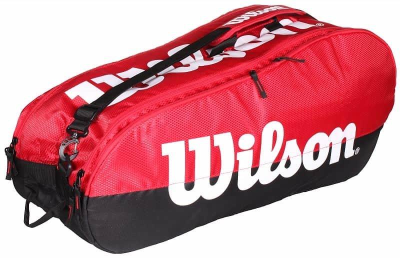 Tenisová taška - Team 2 Comp 2019 taška na rakety barva: červená