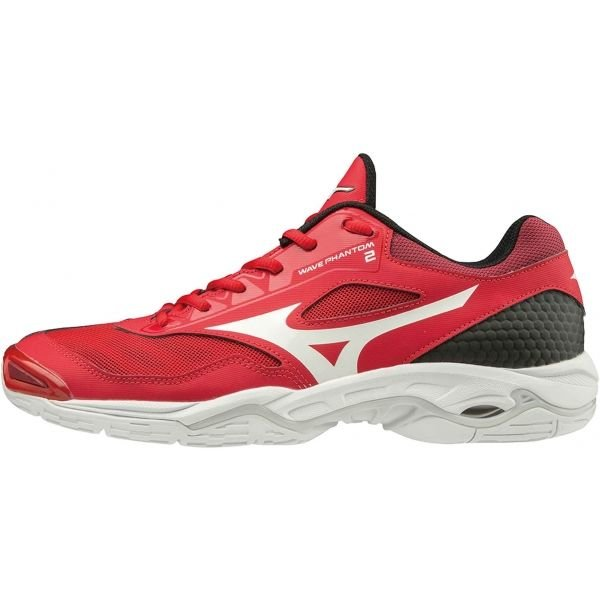 Červené pánské boty na volejbal Mizuno
