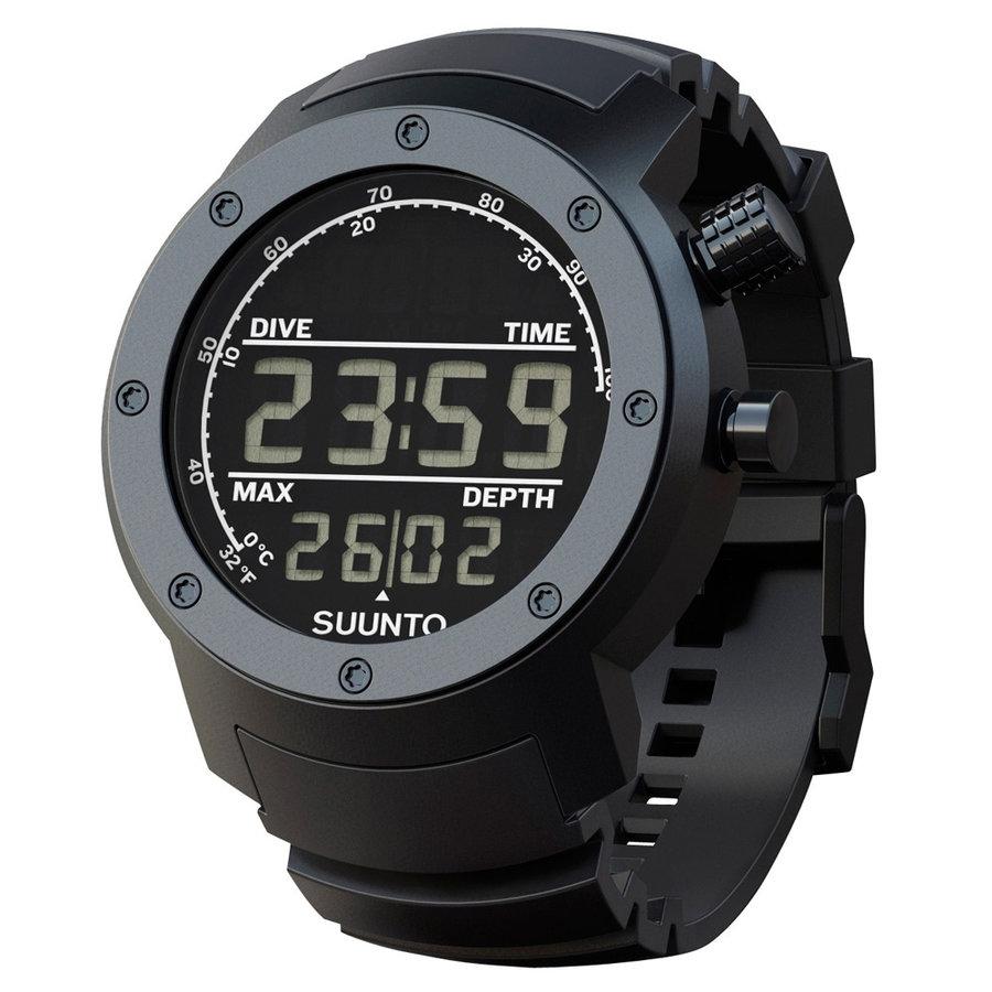 Černé sportovní digitální hodinky Elementum, Suunto