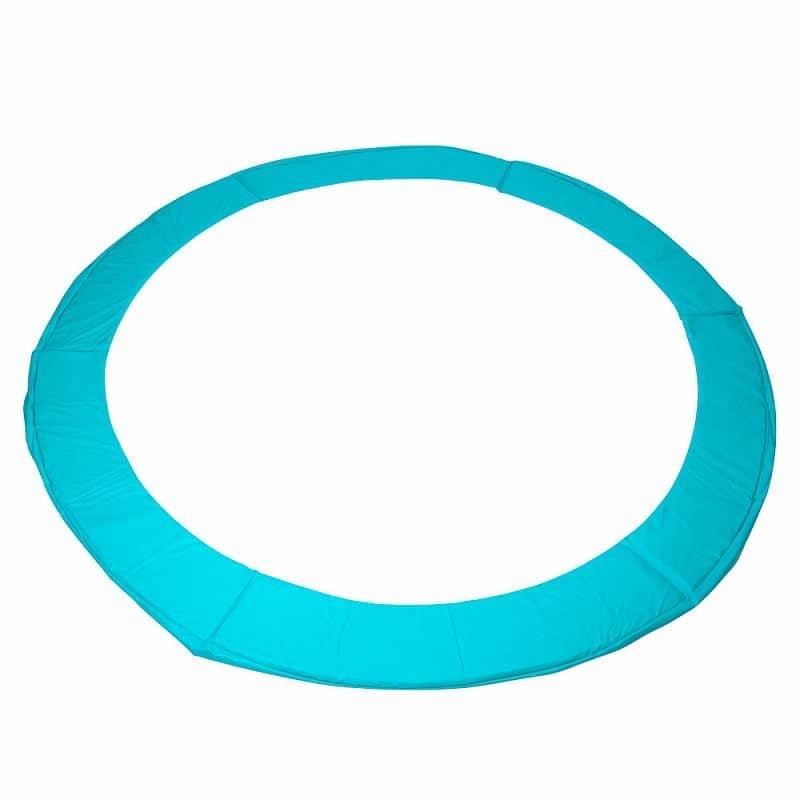 Modro-zelený kryt pružin na trampolínu inSPORTline - průměr 457 cm a šířka 26 cm