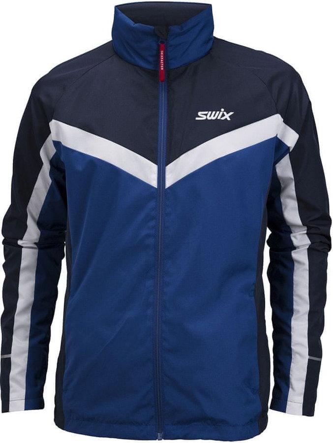 Modrá pánská bunda na běžky Swix