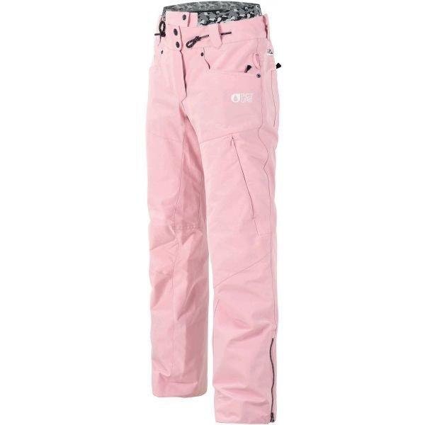 Růžové dámské lyžařské kalhoty Picture