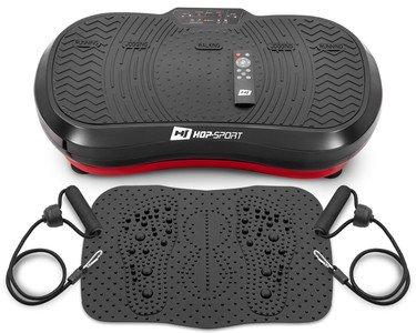 Vibrační plošina s gumovými expandéry HS-050VS, Hop-Sport - nosnost 120 kg