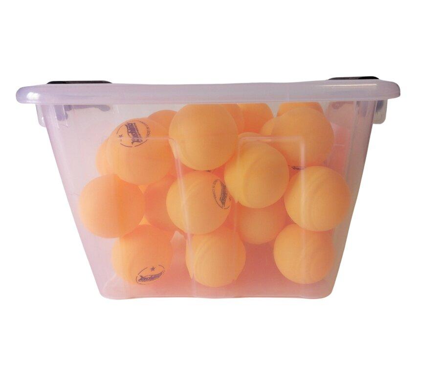 Oranžový míček na stolní tenis - 36 ks