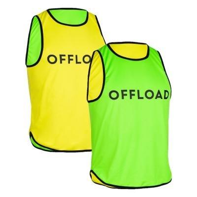 Zeleno-žlutý rozlišovací dres Kipsta