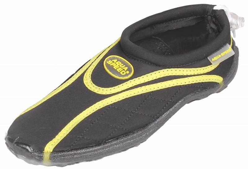 Černo-žluté boty do vody Jadran 9, Aqua-Speed - velikost 42 EU