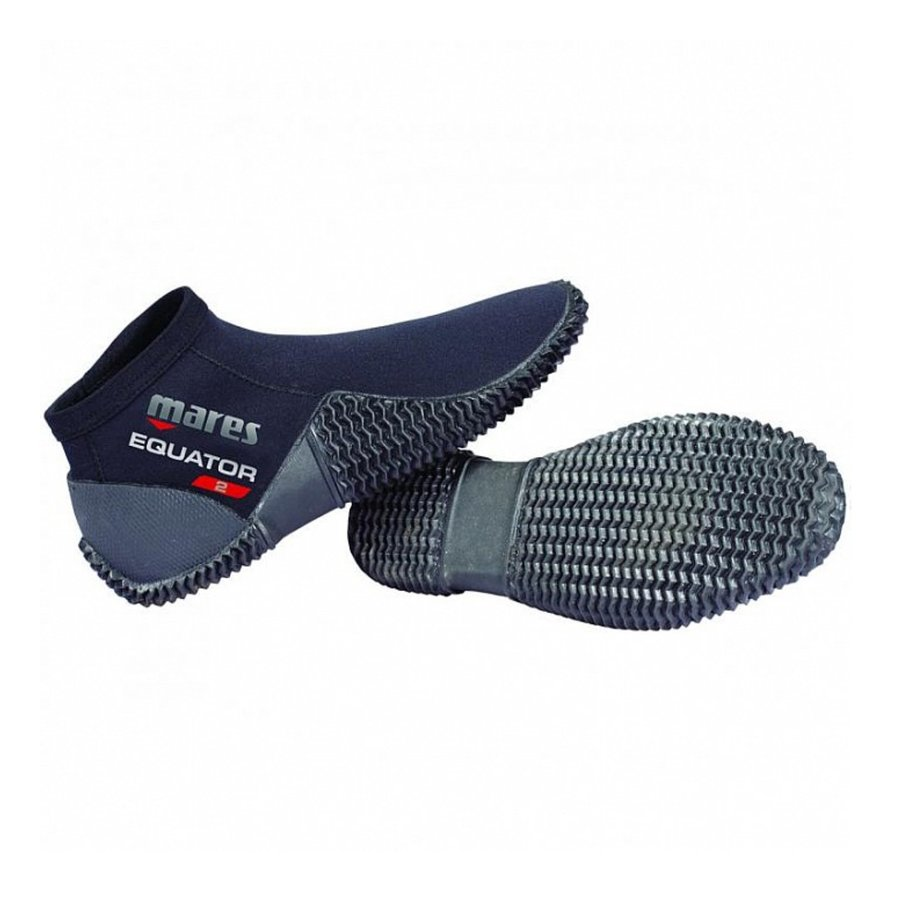 Černé nízké neoprenové boty Equator, Mares