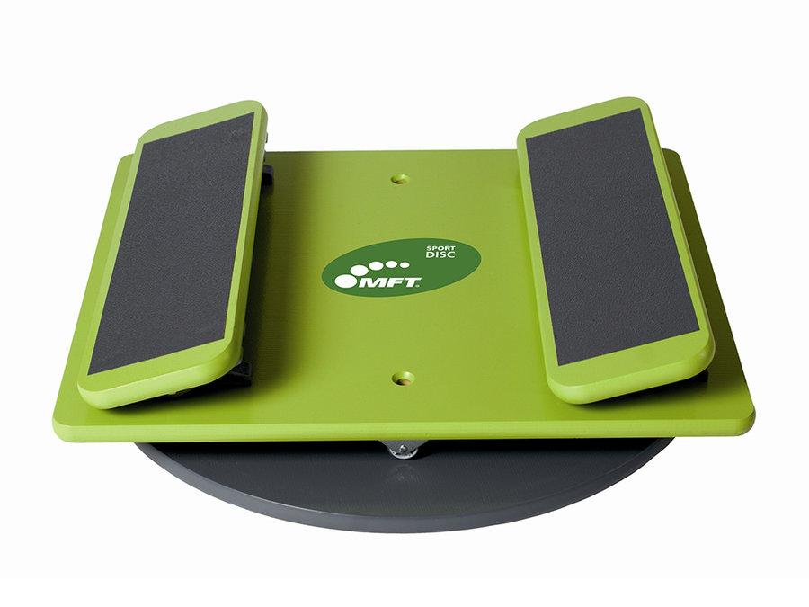Šedo-zelená balanční deska MFT