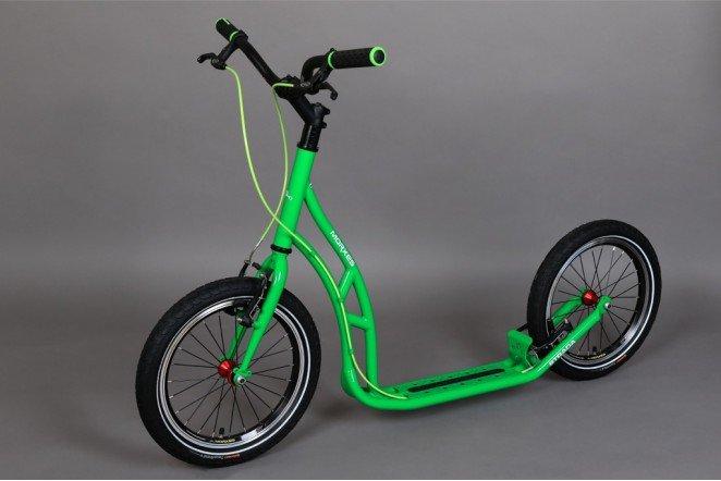 Koloběžka - Koloběžka Morxes Strada zelená