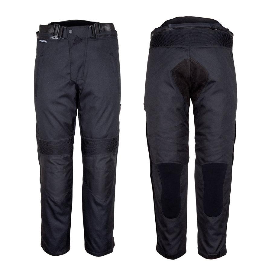 Černé dámské motorkářské kalhoty Roleff