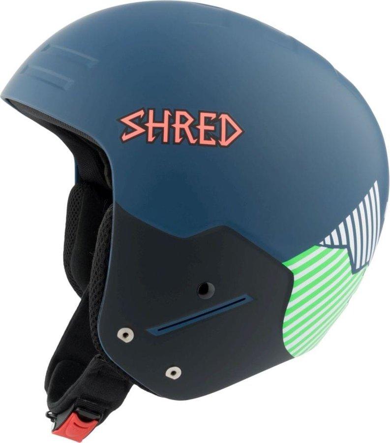 Modrá pánská helma na snowboard Shred - velikost S
