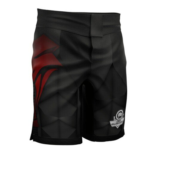 Černé MMA kraťasy Bushido - velikost M