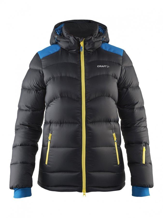 Černá dámská bunda na běžky Craft - velikost L