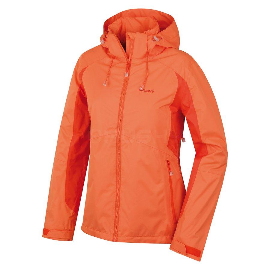 Oranžová dámská bunda Husky - velikost M