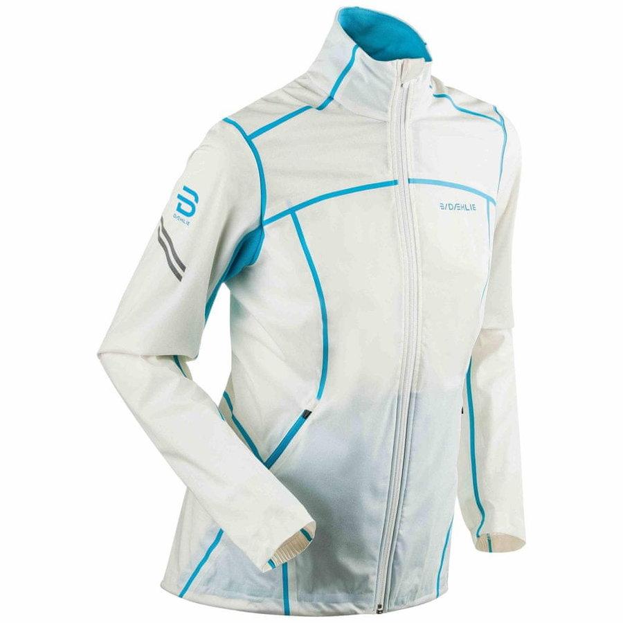 Bílá dámská bunda na běžky Bjorn Daehlie