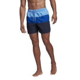 Modré pánské koupací kraťasy Adidas - velikost S