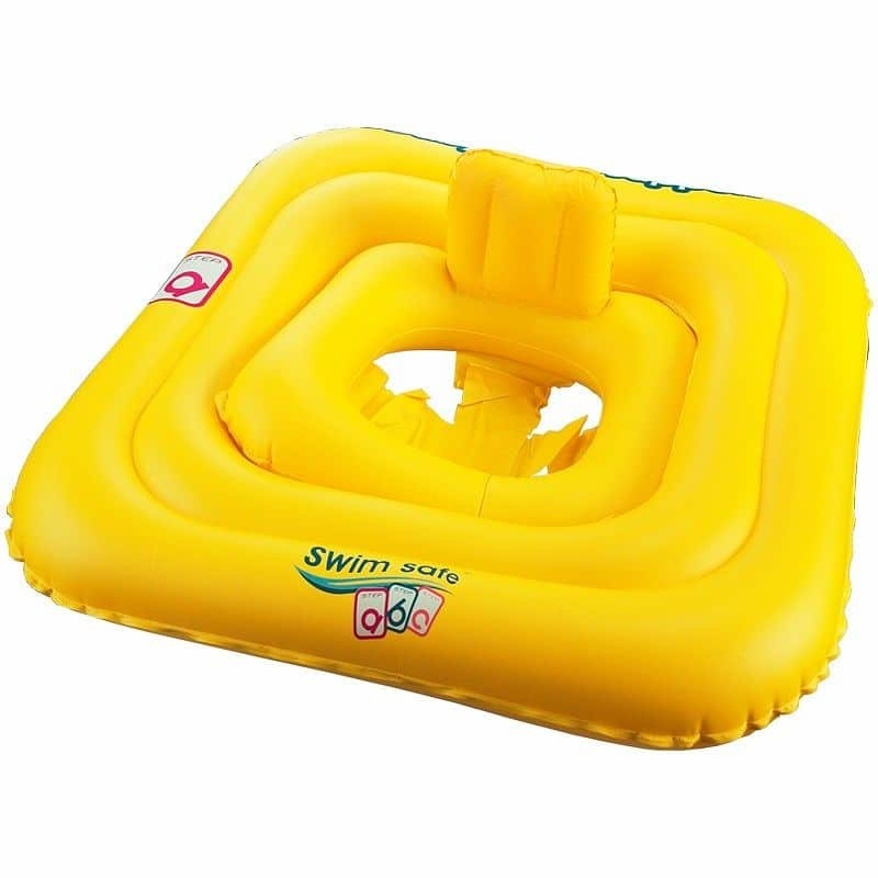 Žlutý dětský nafukovací kruh Aqua-Speed