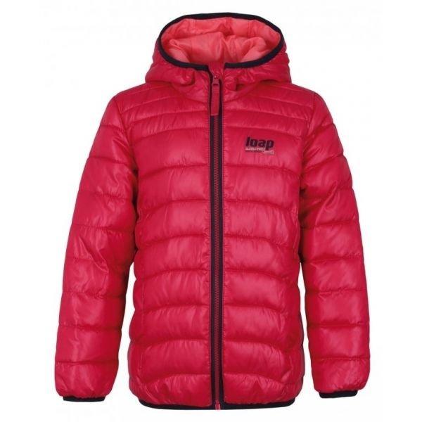 Růžová zimní pánská bunda Loap