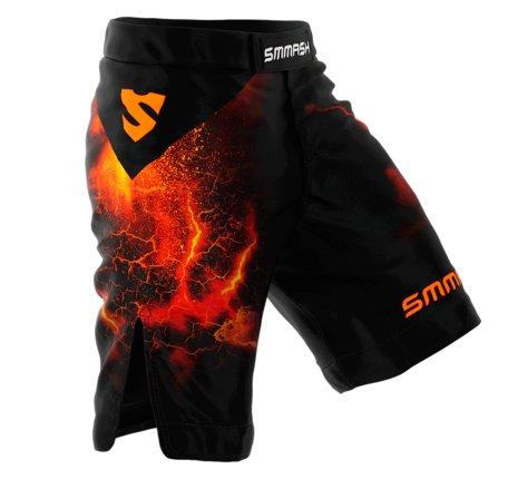 Černé MMA kraťasy King fighter - velikost L