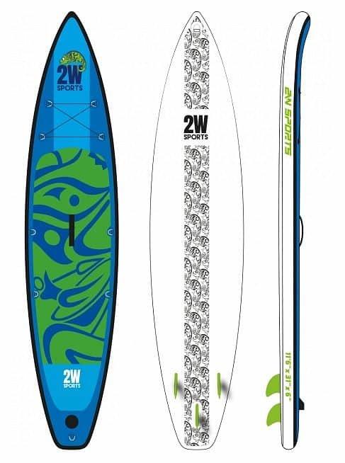 Nafukovací paddleboard 2W Sports