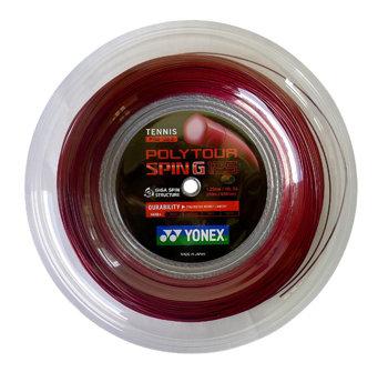 Tenisový výplet Poly Tour Spin G, Yonex - průměr 1,25 mm a délka 200 m