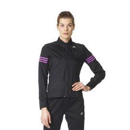 Černá dámská běžecká bunda Adidas