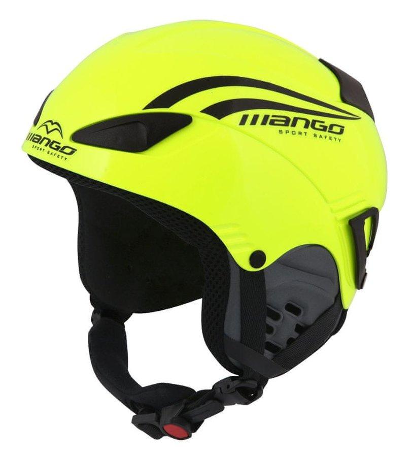 Žlutá dětská helma na snowboard Mango - velikost 48-52 cm