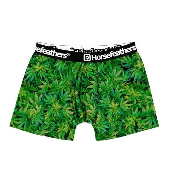 Zelené pánské boxerky Horsefeathers - velikost S - 1 ks