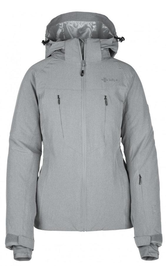 Šedá dámská lyžařská bunda Kilpi - velikost XL