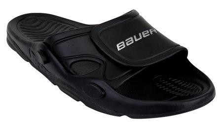 Černé pánské pantofle Bauer