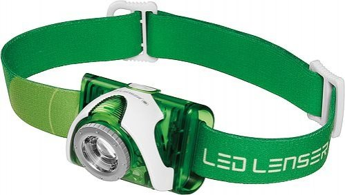 Čelovka - LED Lenser SEO 3 (oranžová barva) - Led Lenser