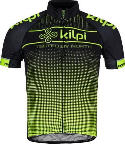 Černo-žlutý pánský cyklistický dres Kilpi