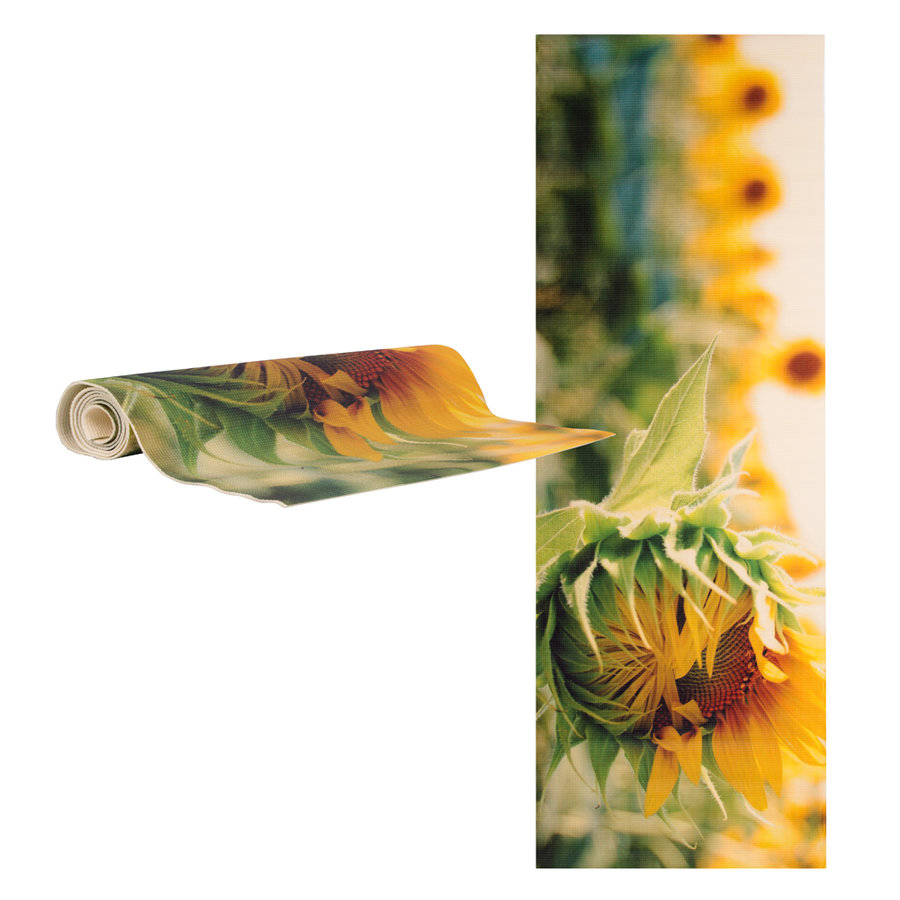 Různobarevná podložka na jógu inSPORTline - délka 173 cm a tloušťka 0,3 cm