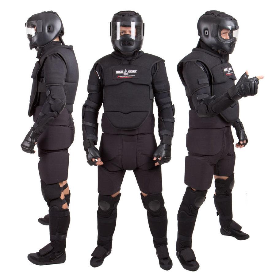 Suchý oblek - Tréninkový oblek High Gear™ - černá - velikost XL