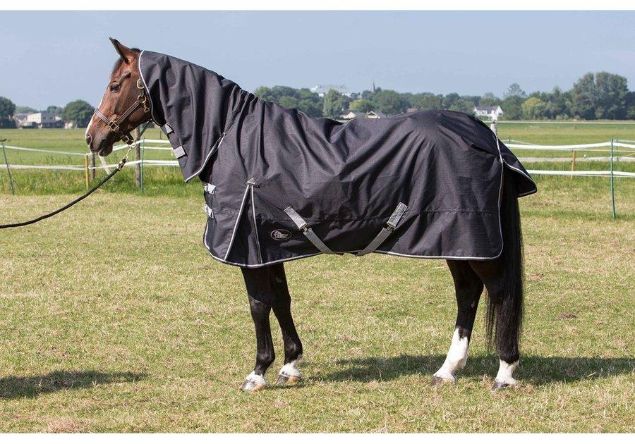 Deka na koně - Harry´s Horse Deka nepromokavá Combo s krkem 600D Velikost dek: 165